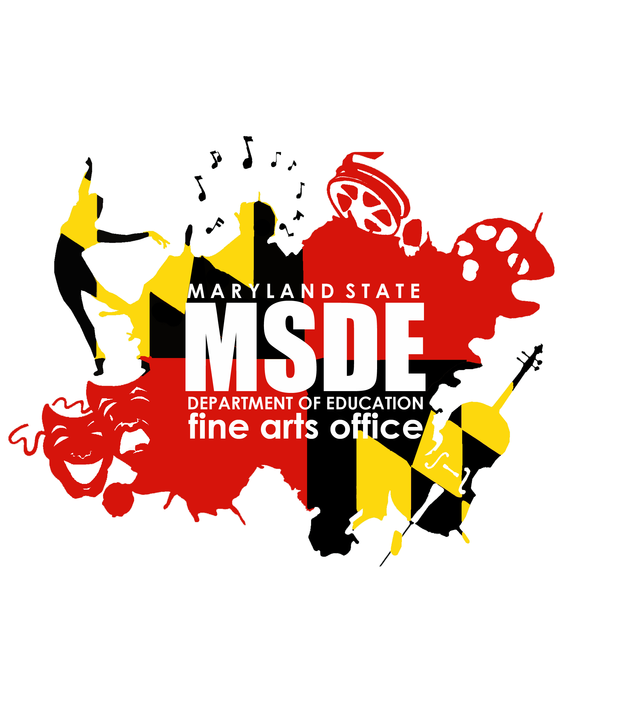 MSDE Fine Arts Logo with white border.png