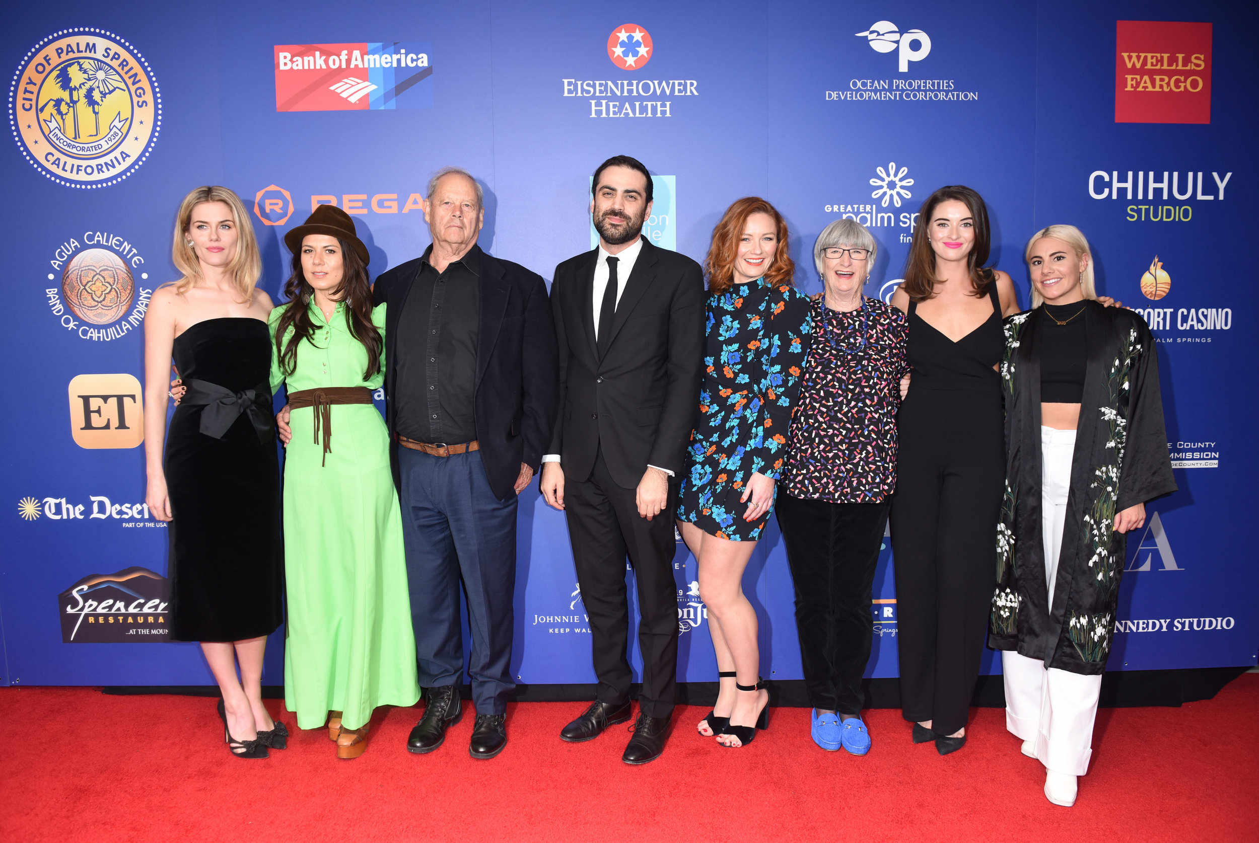 Cast and Creative team at the Closing Night gala - Palm Springs Film Festival 2019