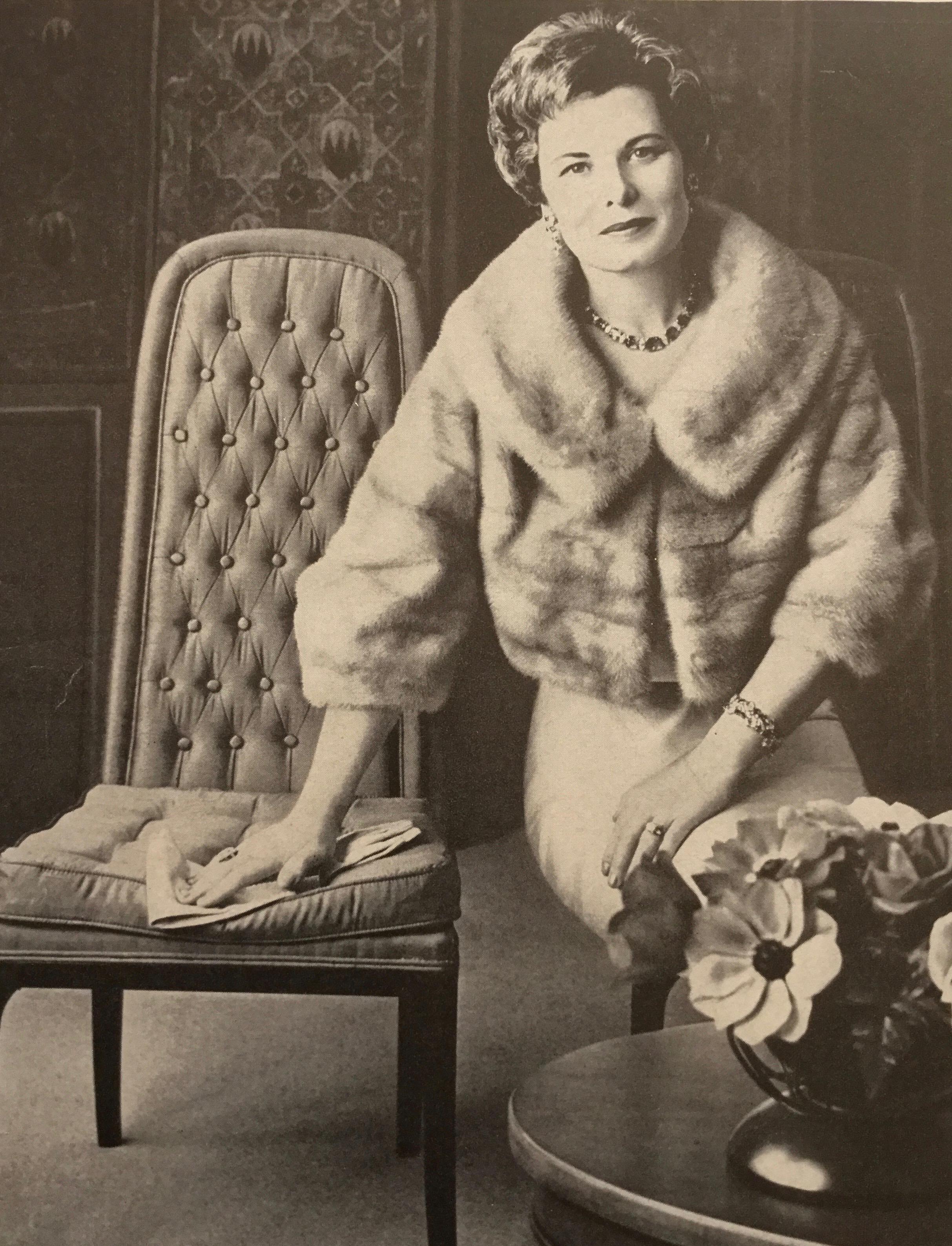 Rod's mother, Industry legend Katharine Covington Lambeth