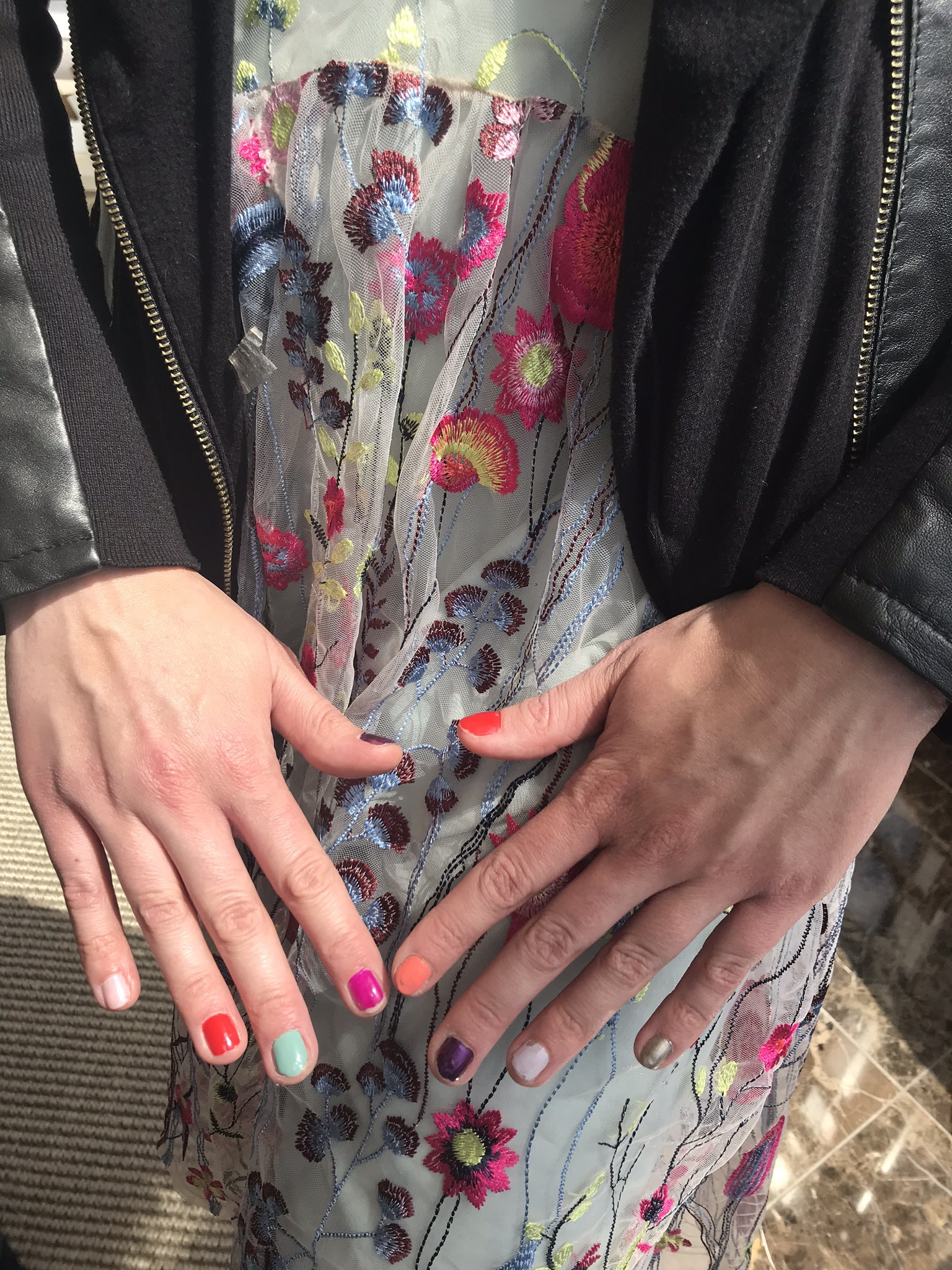 Steelyard Nail Polish Trail - Seven markets, 15,000 bottles, and a lot of colorful nails!