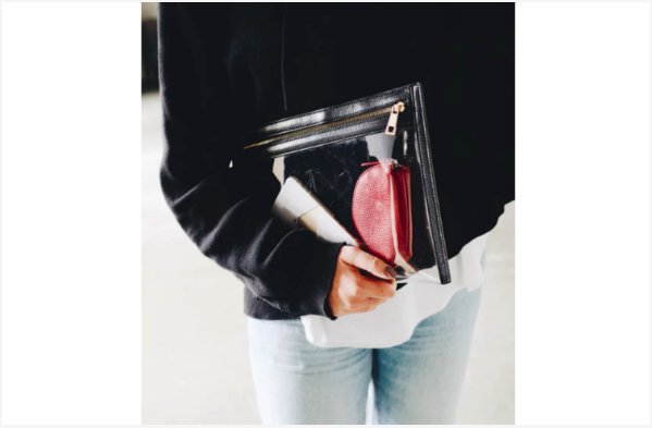 Cleaning a leather purse is relatively simple--it just requires some basic TLC. The same goes for keeping it clean. Do your best to keep your purse  off the ground , holding it on your lap whenever possible.