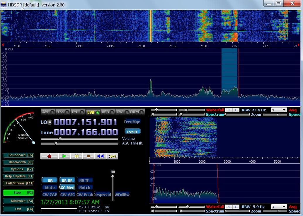 HDSDR Accessibility — HamRadioAndVision