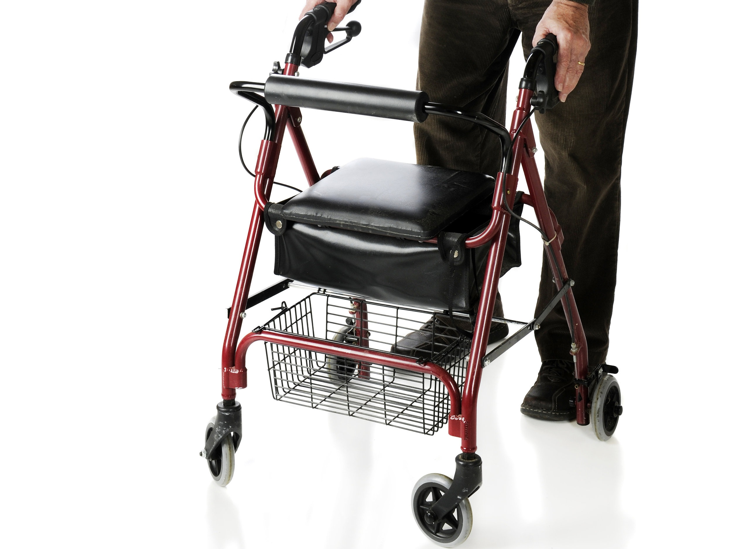 Walkers prevent falls. - WalkWise makes walkers fun, engaging, and smart.
