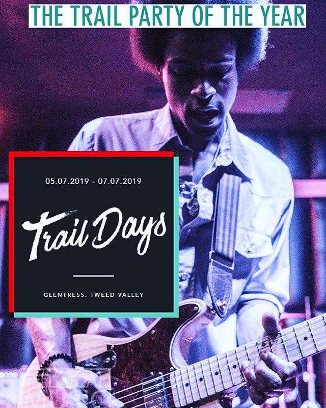 So stoked to be playing a sold out festival in Scotland soon! It's gonna be funky, spacey, vibey & all of that. If you're in the area, come see me at @traildays_festival July 6th! Its's gonna be a hell of a show 👽✌🏾💜 #JonnyDeeMusic