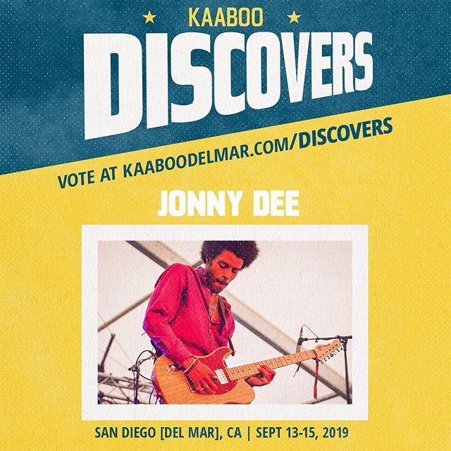 KAABOO wants me to perform, but I Need Your Help!! Click the link in my profile to vote for me! Please Please Please & Thank you 😊✌🏾💜👽 If you have any issues voting, DM me & we'll figure it out. #JonnyDeeMusic