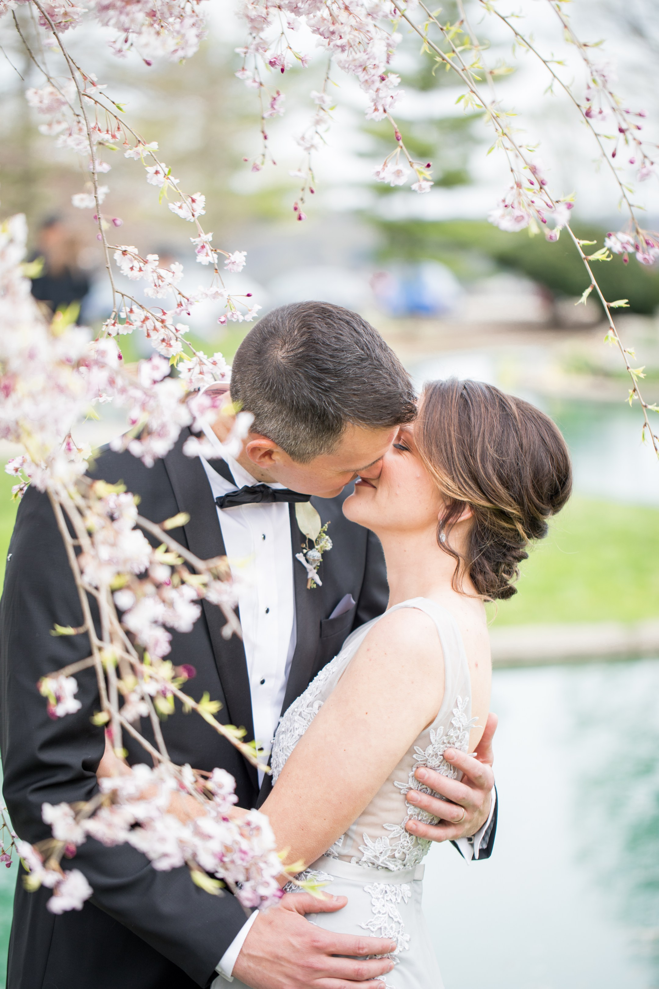 Eden Park, Cincinnati | Styled Shoot | Gray Wedding Dress Cincinnati