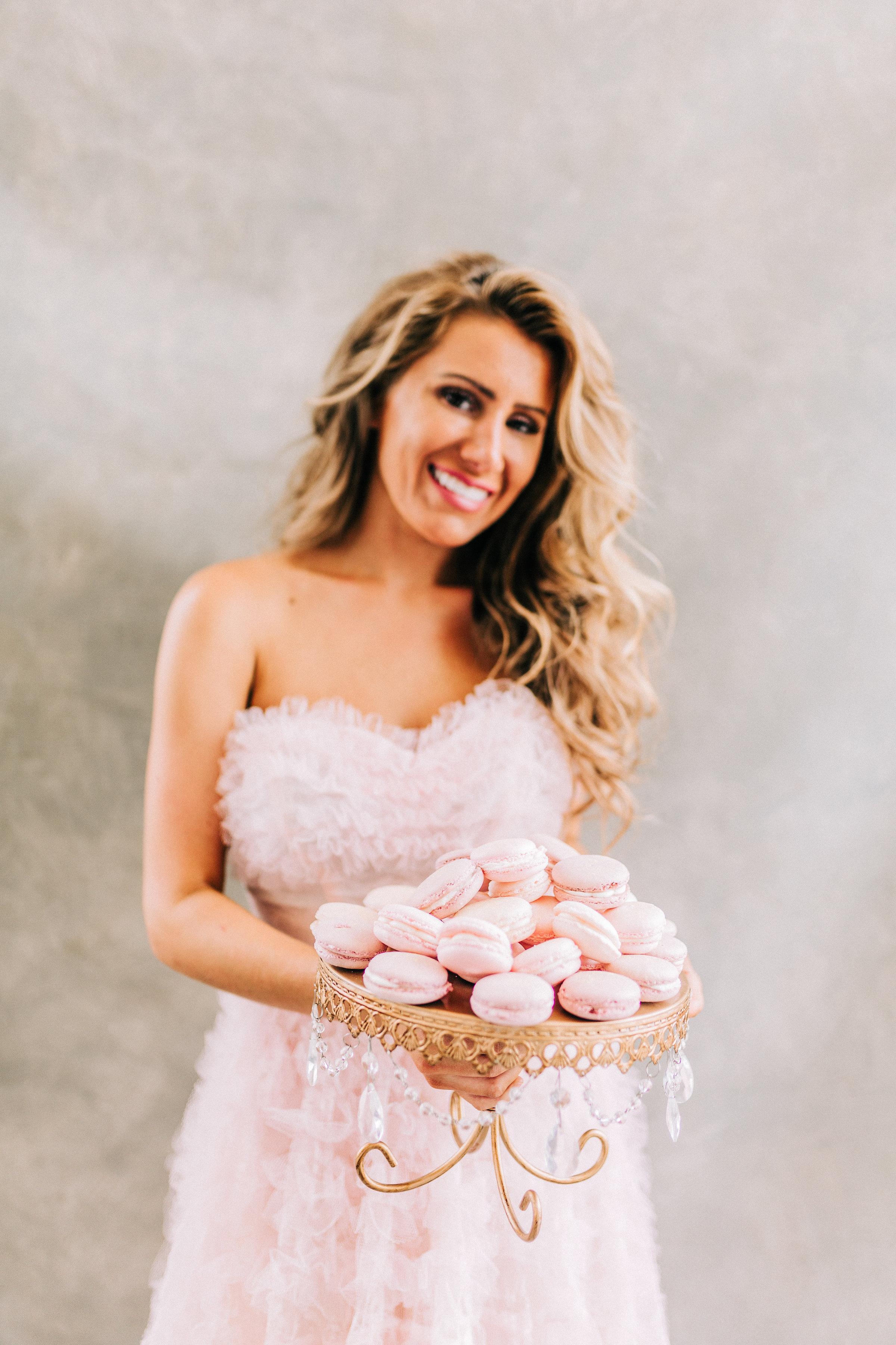 Dayton Wedding Planner - Pink Wedding - Lost and Found Vintage Rentals Dayton