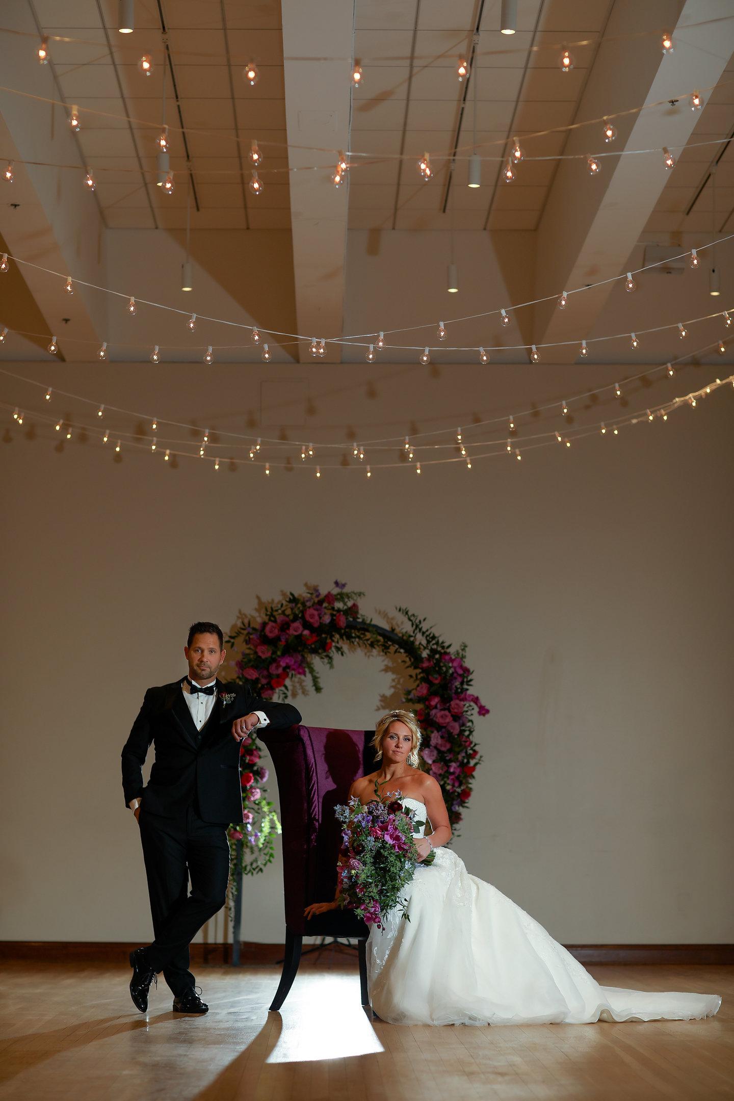 Cincinnati Wedding Planner - Cincinnati Wedding Design - Purple and Gold Wedding - Sherri Barber Photography