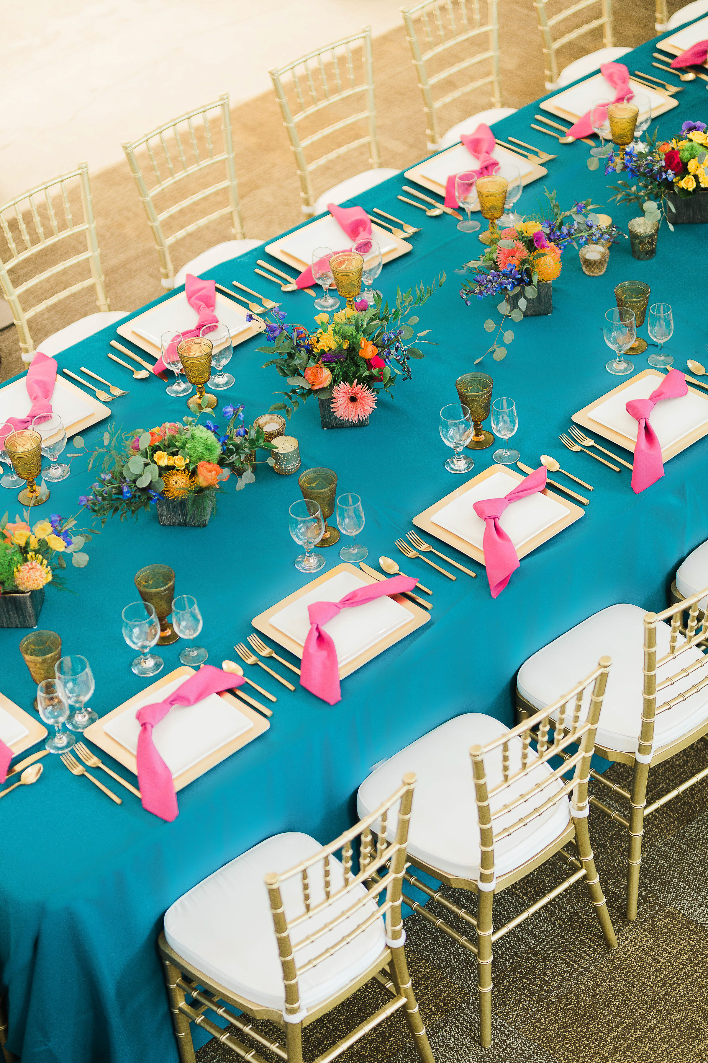 tealweddingdecor