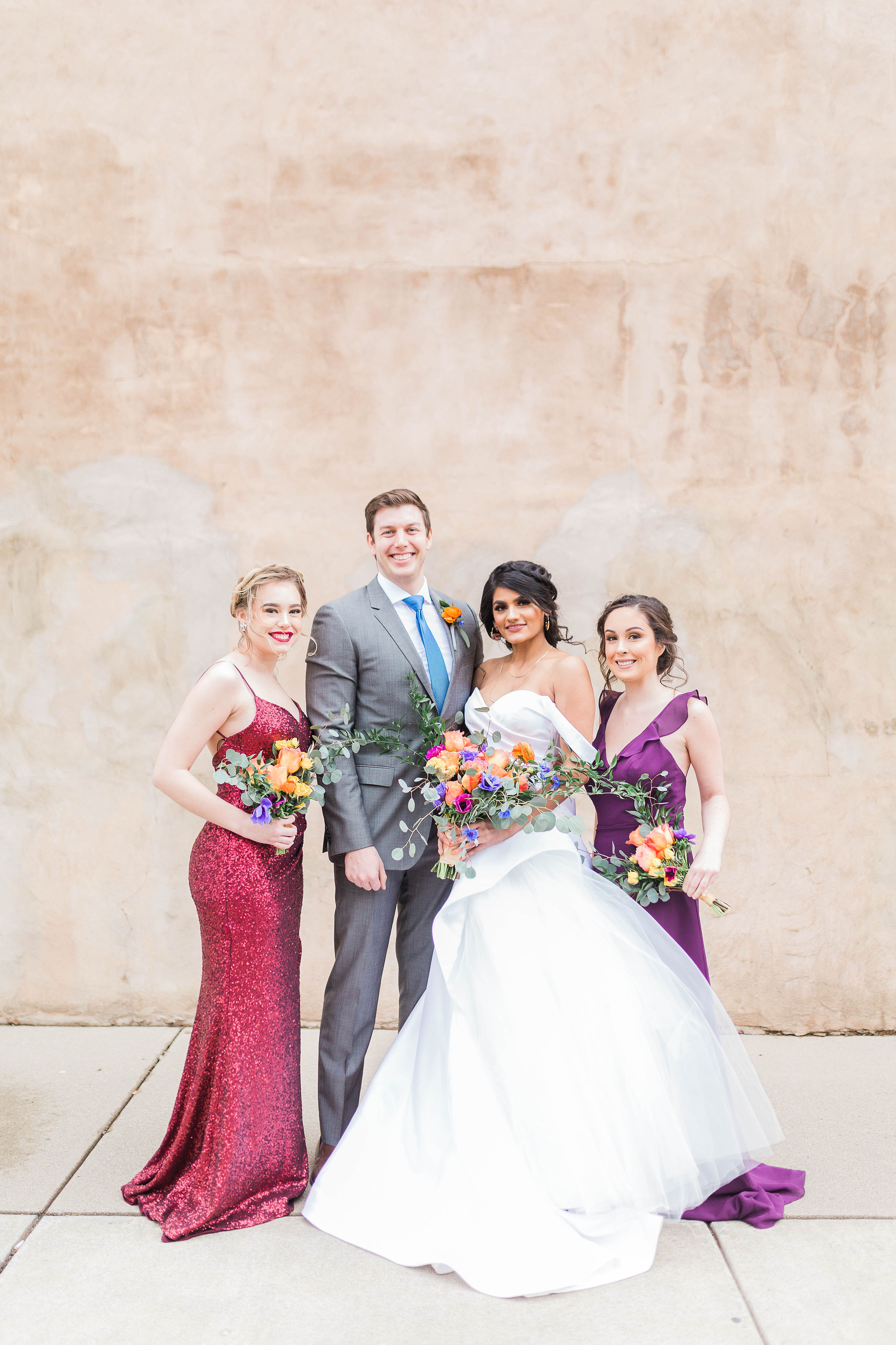 Cincinnati wedding planner - bold wedding color inspiration - cincinnati wedding venue - cincinnati wedding gown