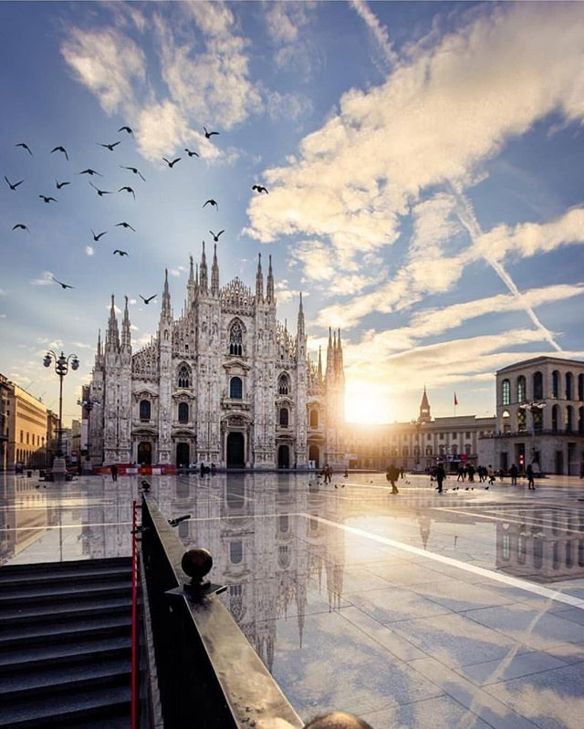 6 more days until we depart ... another spot on our itinerary is Milan! So excited to visit Italy for the first time. Aside from this gorgeous cathedral, what things are there to see and do in the city?? Would love some suggestions. • • • #milan #milano #italy #milanitaly #visititaly #eurotrip #europe #europeanadventure #travelinspiration #traveltheworld #seetheworld #wanderlust #travel #adventure #love #elopement #elope #vacation #honeymoon #dreamtrip #travelinspo #destinationwedding #destinationweddingplanner