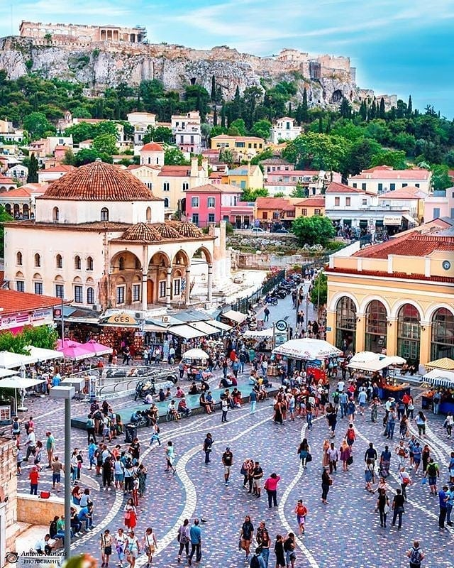 Ok my biggest dream destination since college has been Greece and I'm so excited to explore 3 places on this beautiful country starting with Athens! Would love to hear your fave spots in the city for food and shopping! • • • #greece #athens #athensgreece #greek #greekmythology #acropolis #eurotrip #europe #europeanadventure #travelinspiration #traveling #travelinspo #comeflywithme #lettheadventurebegin #destinationweddingphotography #destinationweddingplanner #dreamtrip #travel #honeymoon #weddings #loveislove #destinationwedding #elopement #elope #vacation #wanderlust #mykonos #santorini