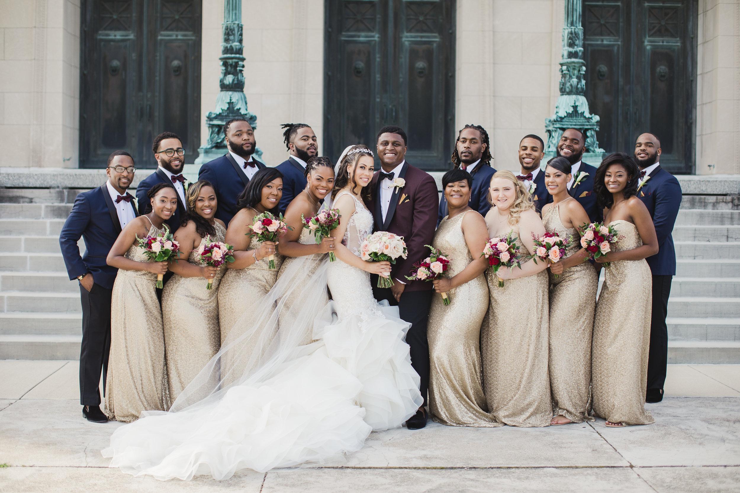 weddingparty-burgundyandgoldwedding