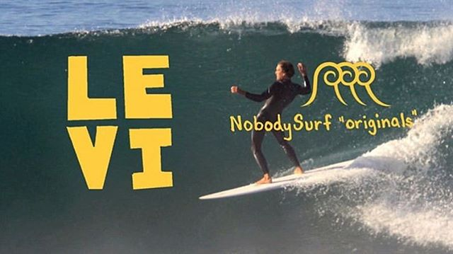 Check out the new @nobody_surf original edit by @jack_colemang featuring @thedirtymartini_ 🍸 model being ridden by @leviprairie . Link to video through @jack_colemang s bio