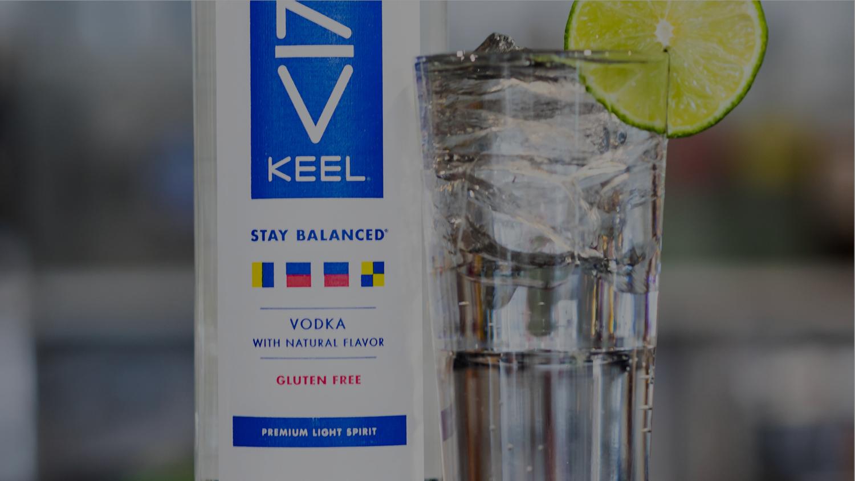 The 58 Calorie Vodka Soda — KEEL Vodka