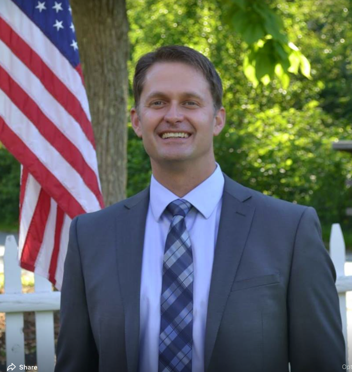 Lucas Murray (D) House District 28 - Coventry