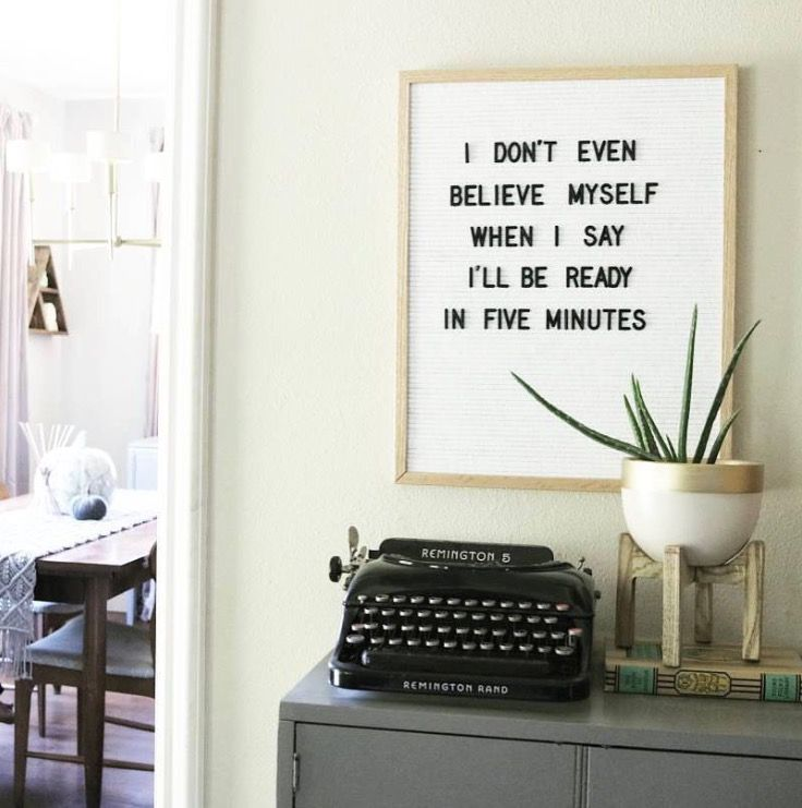 Letter Boards We Love Espressofied