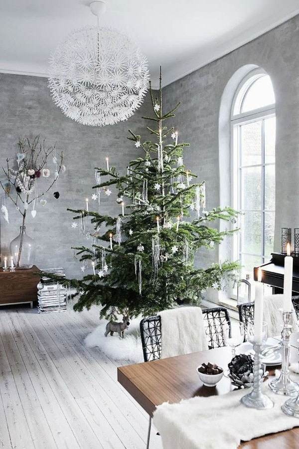 White Christmas Decor Inspiration by Moco Choco
