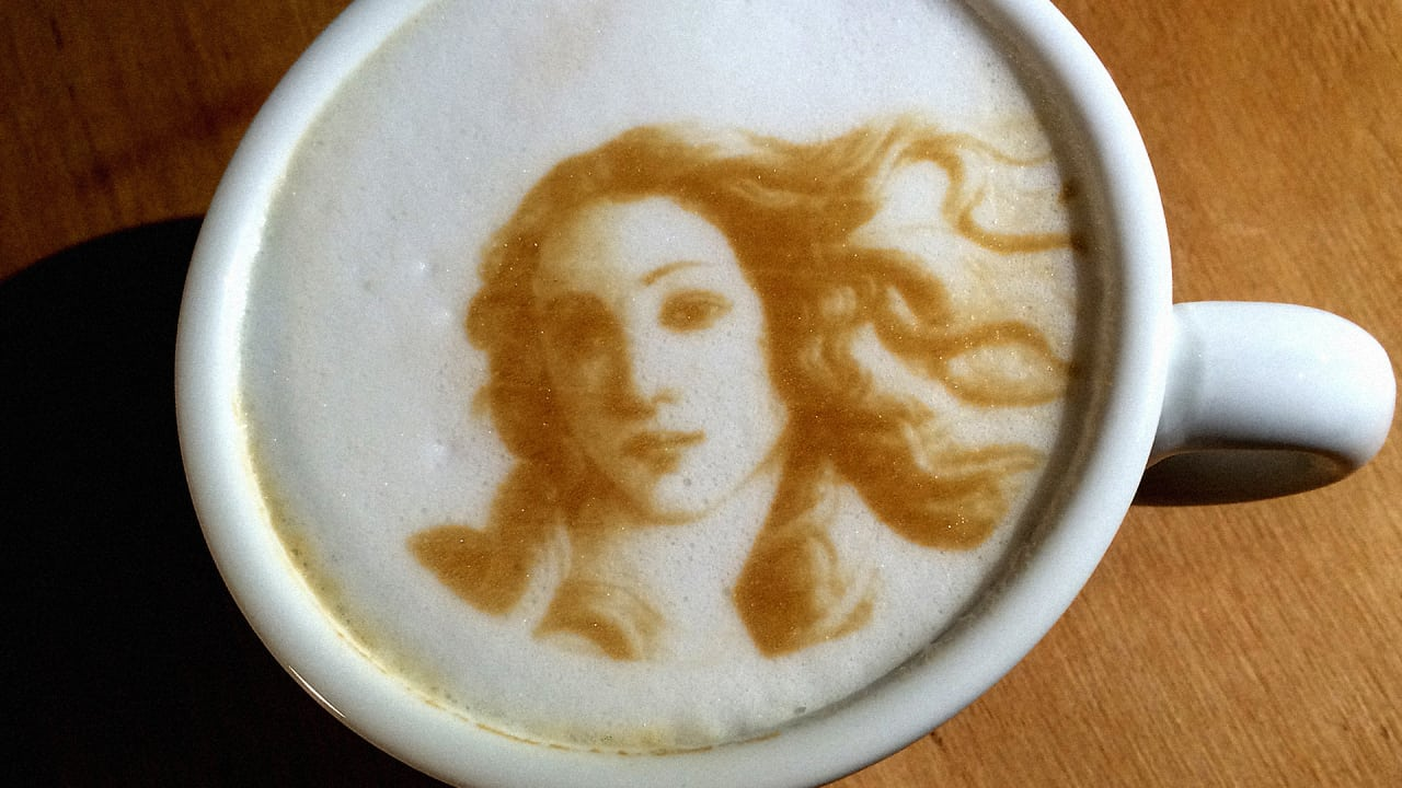 Goddess Latte Art vja Fast Company