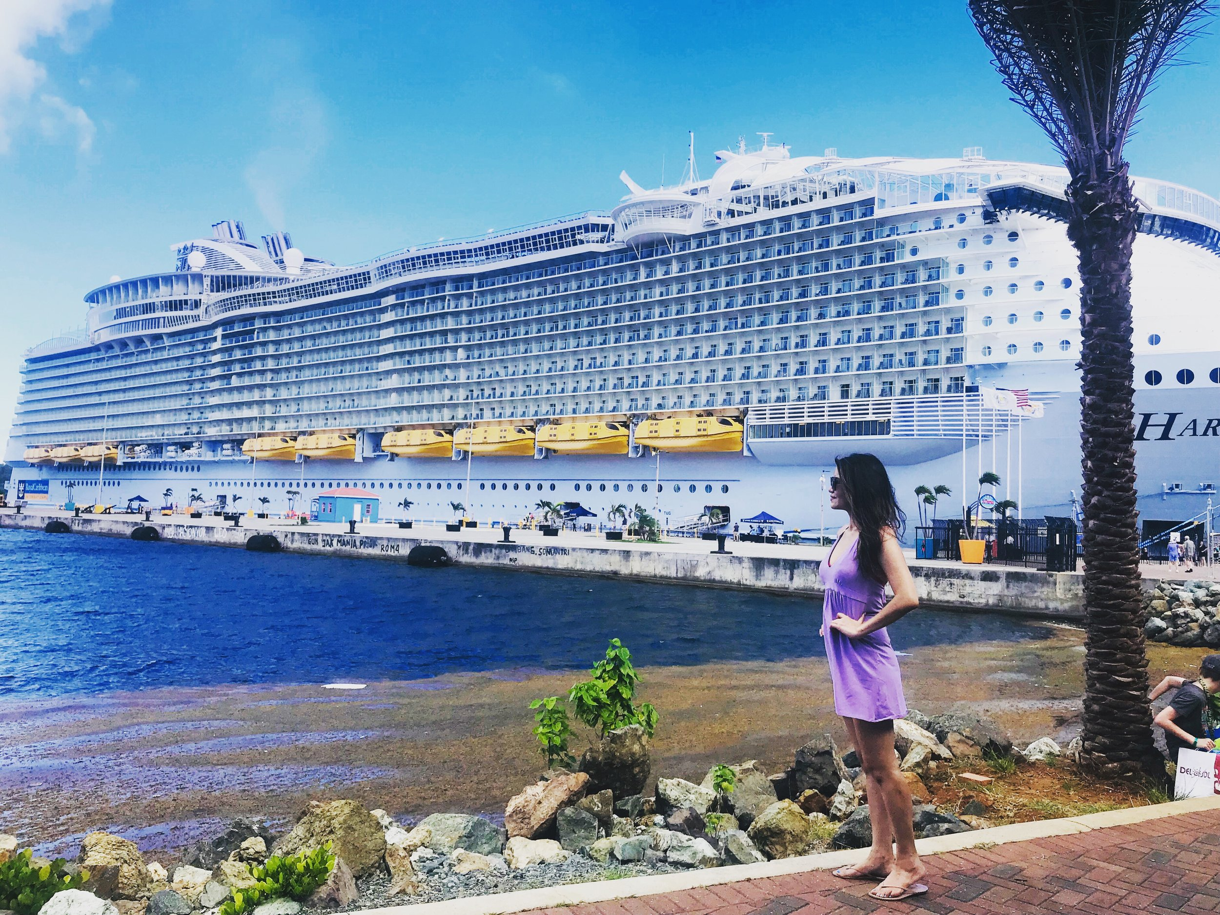 Crown Bay, Charlotte Amalie, St. Thomas, U.S. Virgin Island via Royal Caribbean's Harmony of the Seas | June 2019