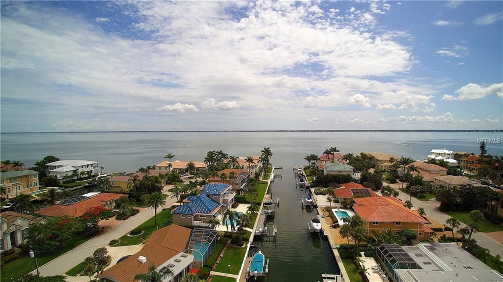 Homes with Direct Gulf Access -