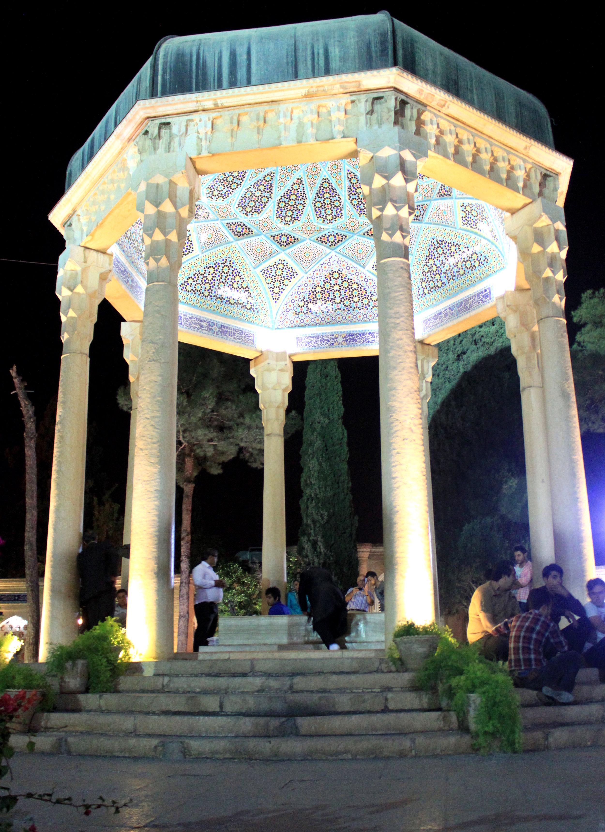Hafez's Tomb, Shiraz, Iran (NPJ 2011).