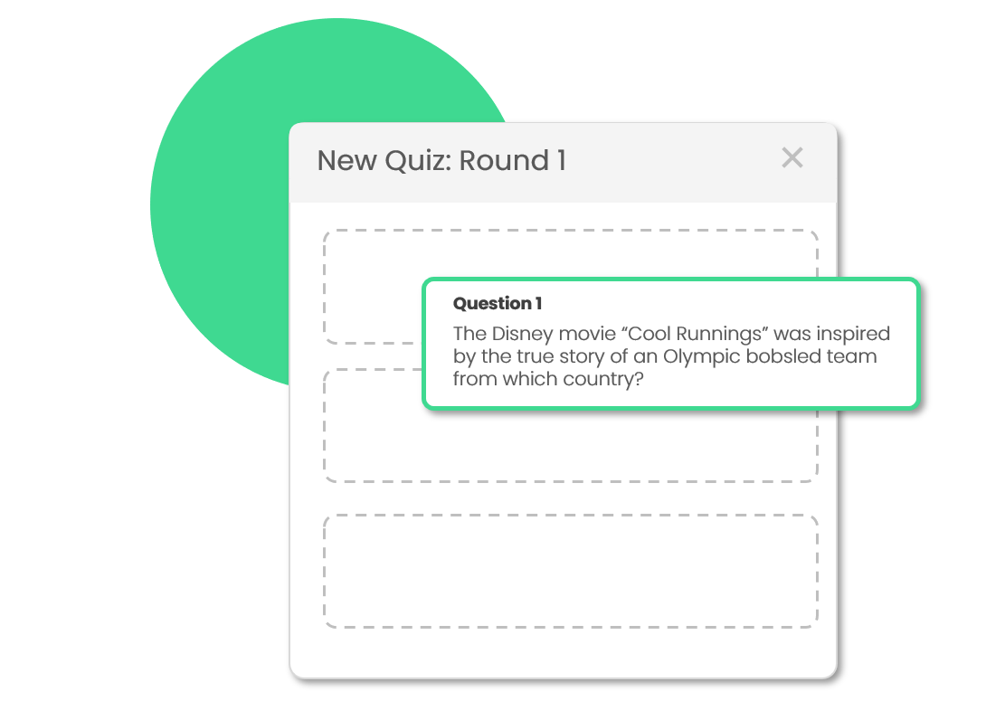 Quiz Builder - If you already have a set of your own trivia quizzes or would like to customize one of ours, you can use our do-it-yourself Quiz Builder.