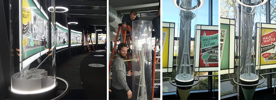 Seattle Space Needle Exhibit