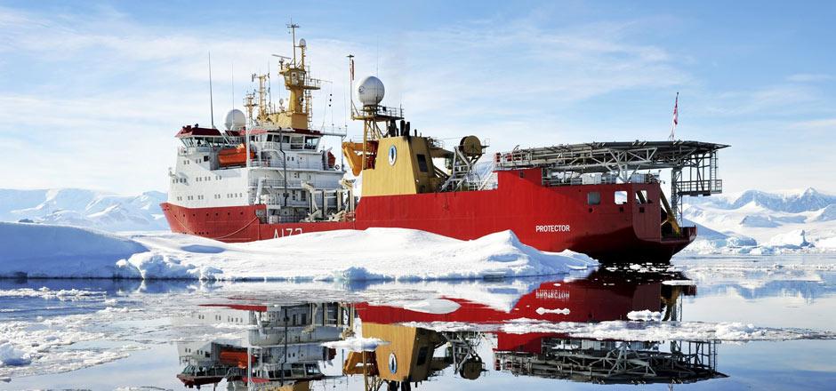 HMS Protector 3D Printed Navigation