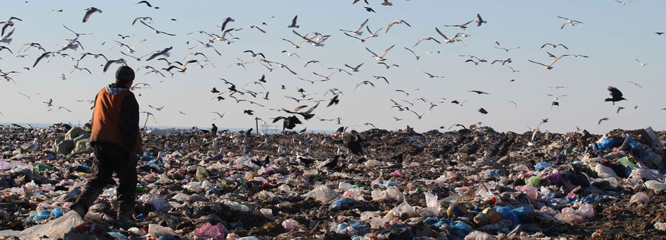 Reclaiming Waste for 3D Printing