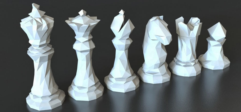 3D Printing Chess Set