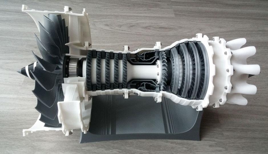 3D Printing Jet Engine