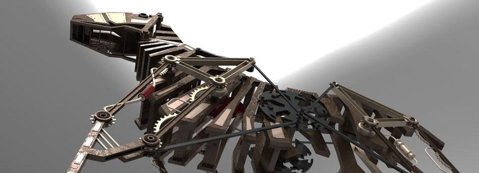 3D Printing Mechanical Horse