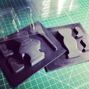 3D Printed Vacuum Form Mold FATHOM