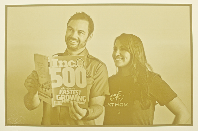 Inc5000 3D Printed Photo FATHOM (2014) 1