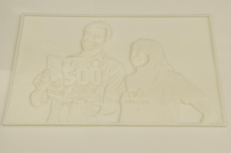 Inc5000 3D Printed Photo FATHOM (2014) 3