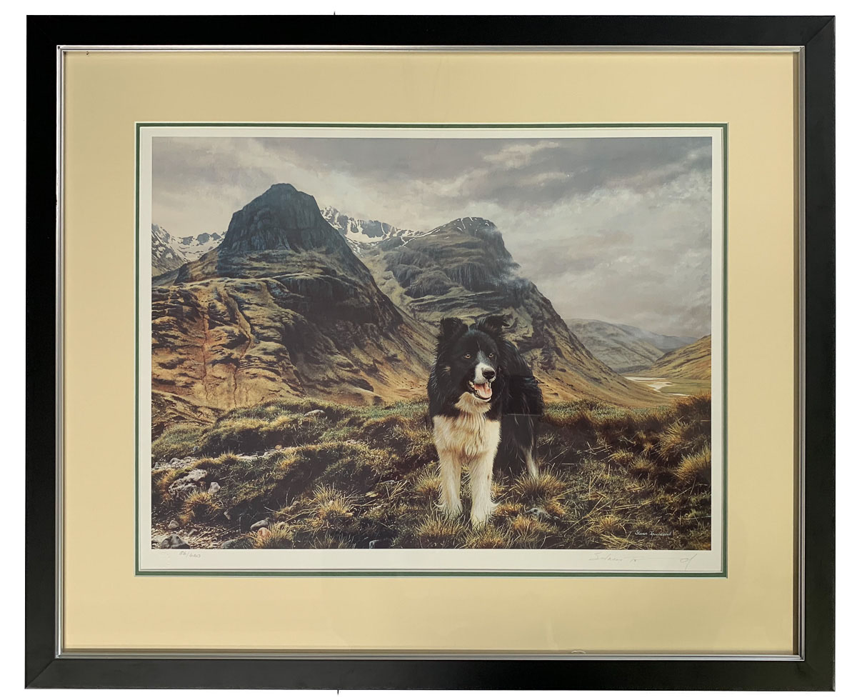 Print in new frame with double mount to add extra dimension to image.