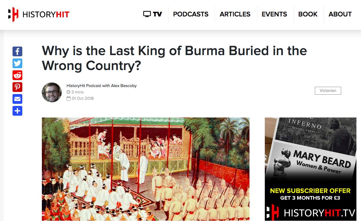 HistoryHit: The Last King of Burma