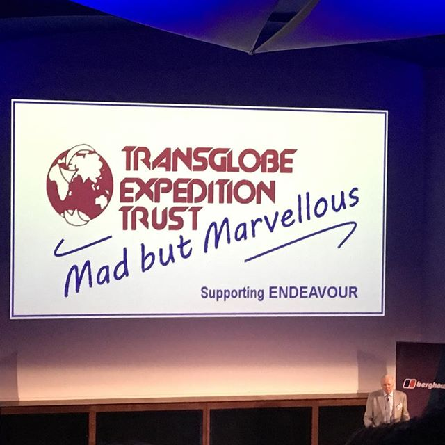 Fantastic evening @rgsexplore hearing tales of adventure from @benedictallenexplorer, @levison.wood and @kmhumble in support of the TransGlobe Exploration Trust. Must admit, that tagline has got me itching for a #tattoo... #explore #getoutside #travel #expedition #geography