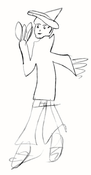 001 Bobby drawing age 4.jpg