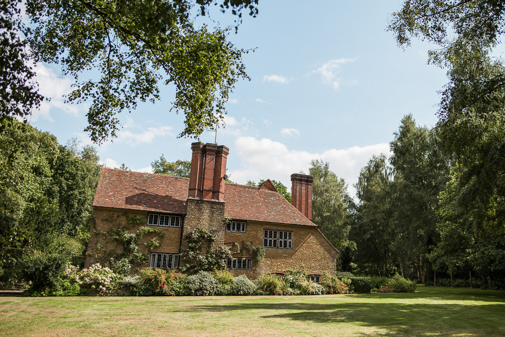 The house designed by Lutyens