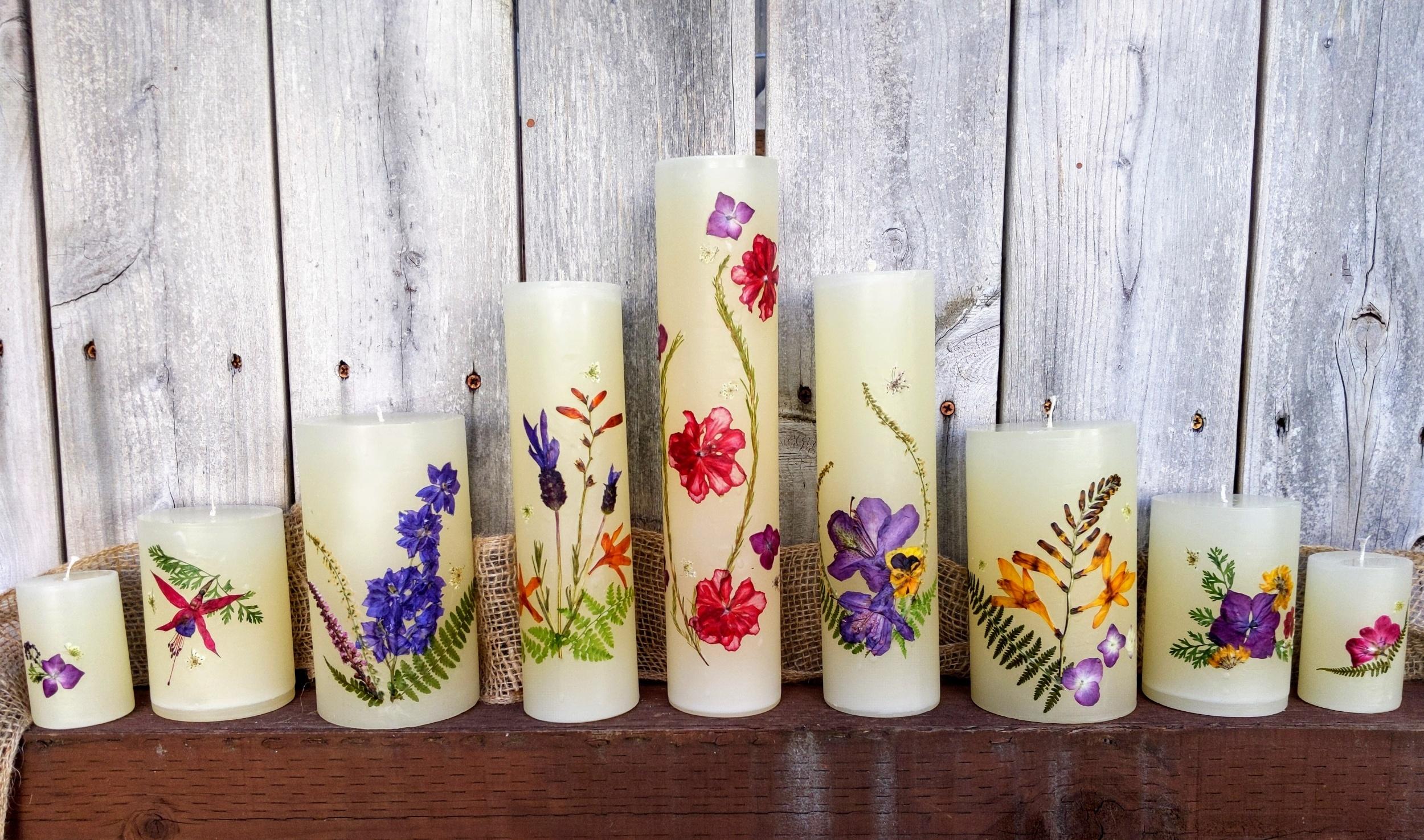Beautiful flowers inspire new beautiful designs.