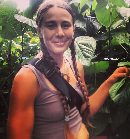 - Molly Jo is a lifelong dedicated student of ecology, ethnobotany, herbal medicine, yoga, mindfulness, permaculture, ceremony and music. She believes that when humans live with the awareness that we are sacred beings within a much larger, wholly connected, divine system, we are empowered to make choices that truly nourish ourselves and, therefore, all beings. Her dharma is to inspire all people to reconnect to a sense of place within themselves, their communities, and the great web of life, thereby cultivating a lasting reverence for our extraordinary existence. She is currently pursuing her Masters in Education at Antioch University, fusing her life's work in a self-designed program, Educating for Mindfulness and Sustainability. You can find her working passionately at the intersection of human and ecological wellness, from sharing mindful movement, wilderness exploration and sustainability practices with students of all ages in wild places, classrooms and on yoga mats, to coordinating Zero Waste efforts at Yoga festivals and beyond.