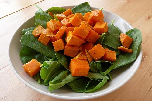 Spinach, Sweet Potato, Avocado