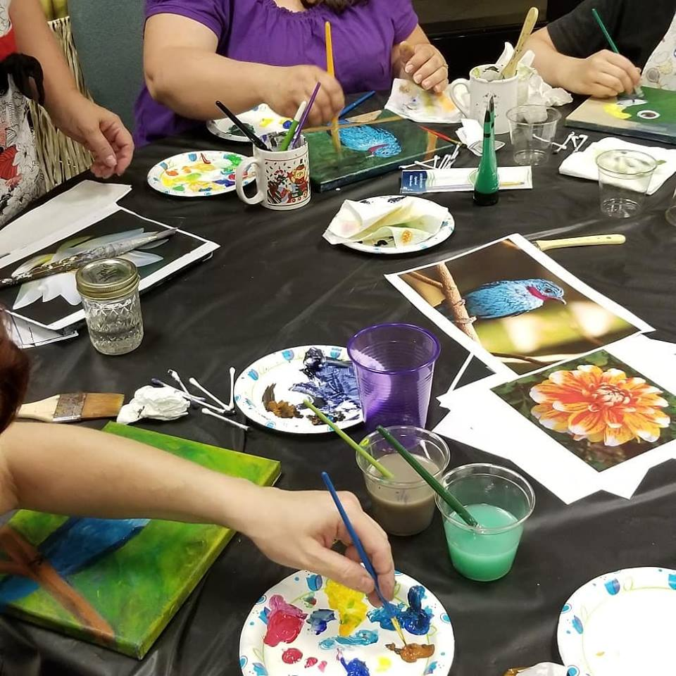 PAINTPARTIES - Contact us to schedule your paint party today!