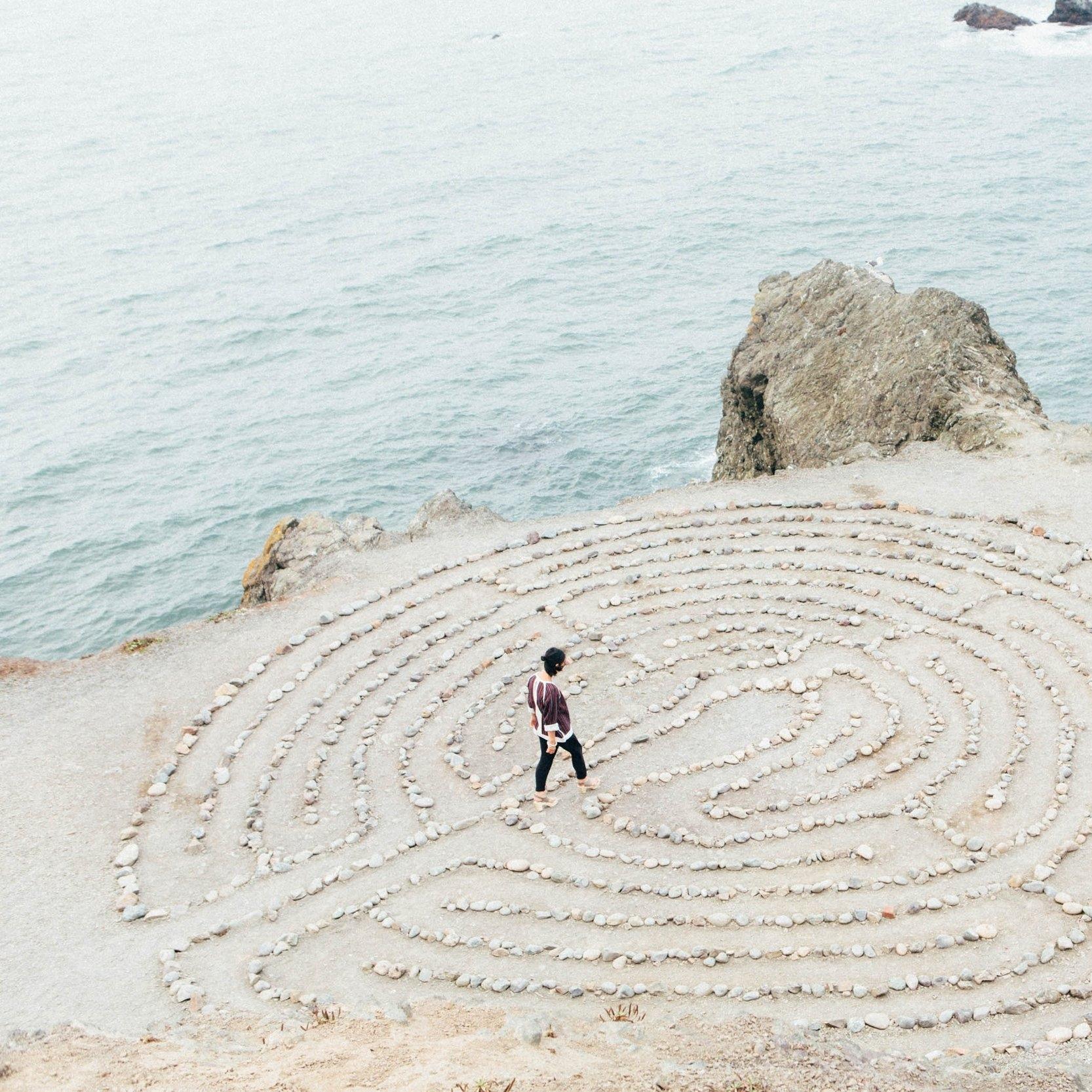 prayer labyrinth -