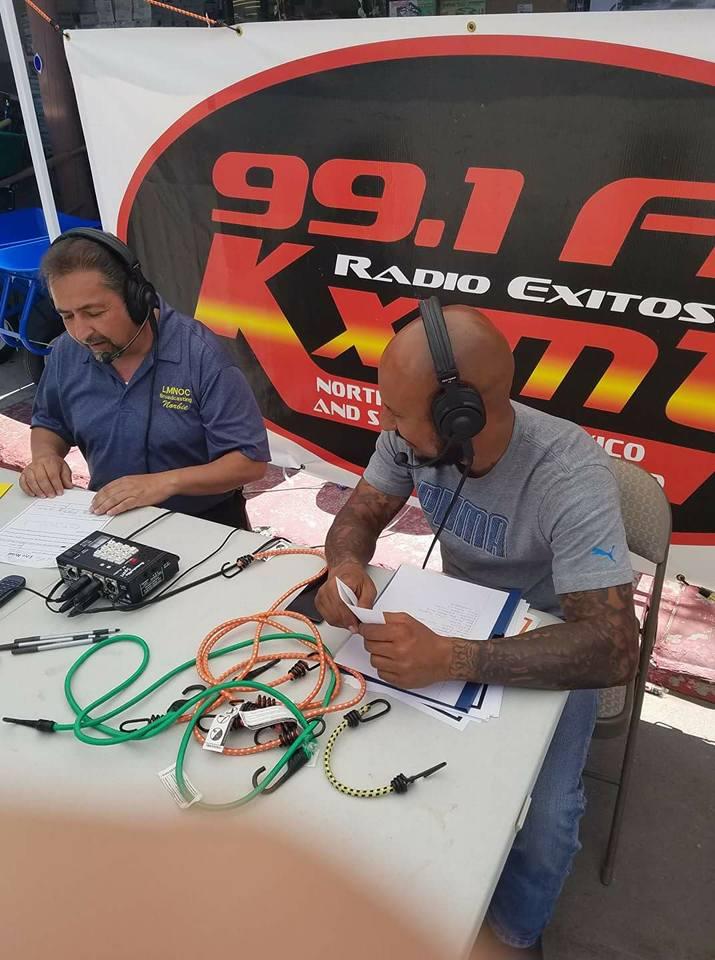 Ralph Martinez speaking on the Taos Radio