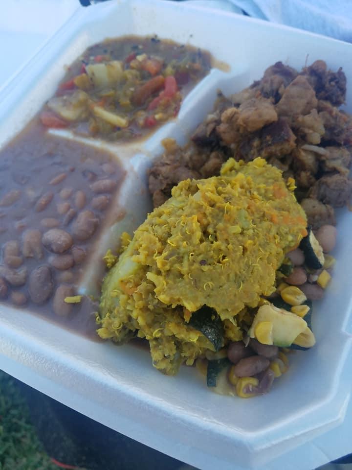 Food at the 2018 Española Community Matanza