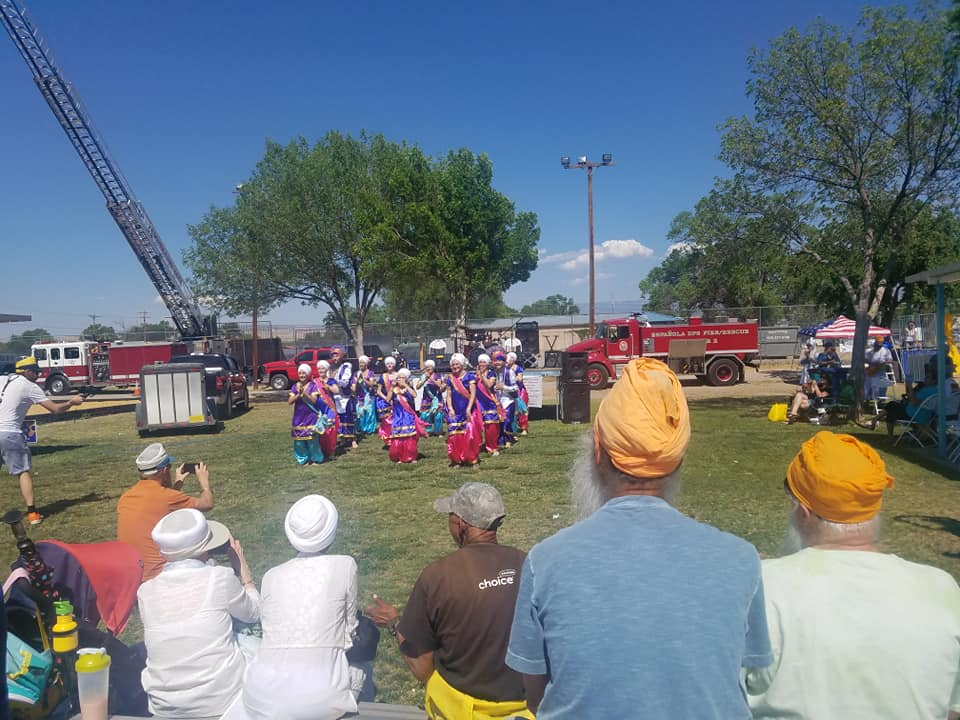 Dance by the Sikh Community