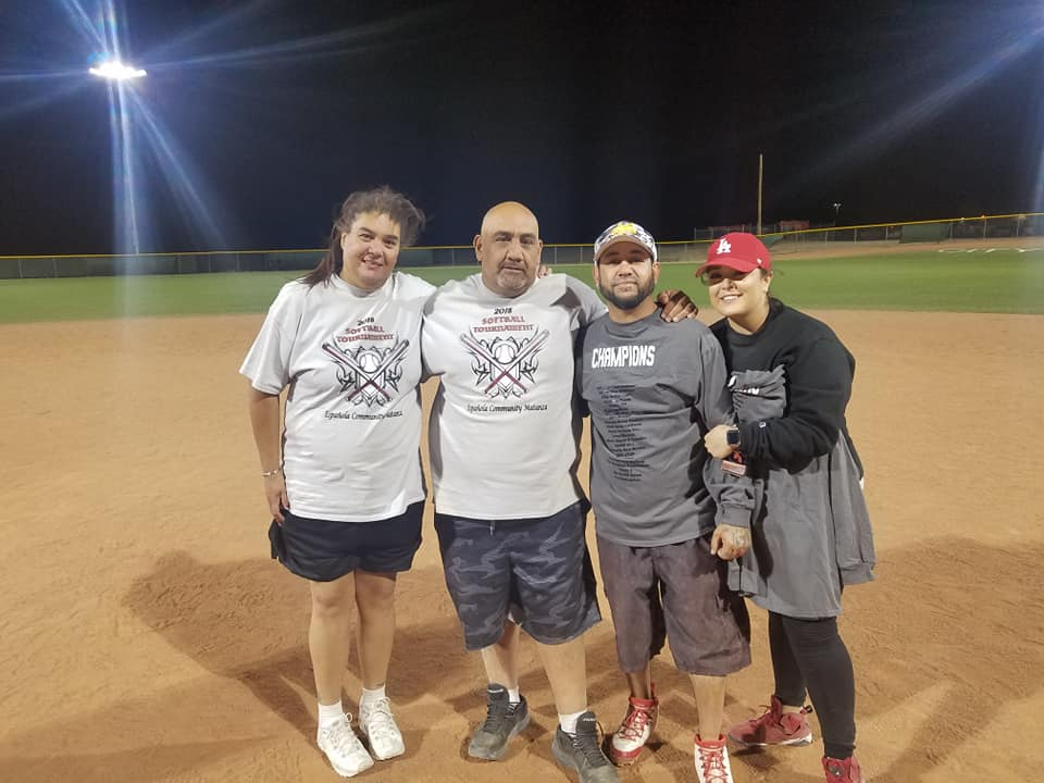 Softball Organizers Kim Chavez, Roman Lozano, Josh Garcia (R.I.P)